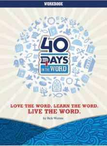 40 Days in the Word Study